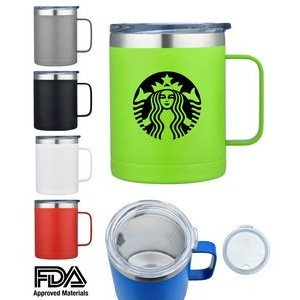 14 Oz. Double Wall Stainless Steel Mug Vacuum Insulated
